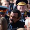 Стивен Сигал посетил Парад Победы в Москве 9 мая