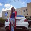 Алиана Гобозова хвастается новым Мерседесом от компании сетевого маркетинга