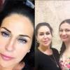 Татьяна Африкантова сделала татуаж бровей, фото