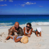 Оксана Самойлова поделилась фотографиями с отдыха на Багамах