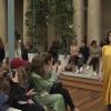 Неделя моды в Париже:  модные показы Valentino, Eli Saab, видео