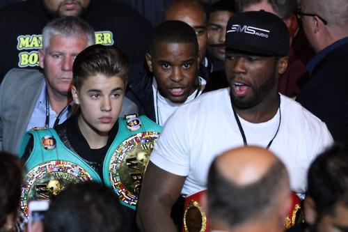 50 Cent и Джастин Бибер