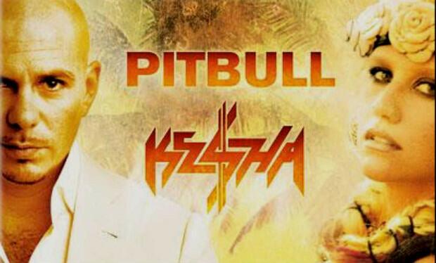 Kesha спасает ситуацию с помощью Pitbull