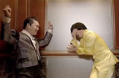 Кадр из клипа Psy - Gentleman