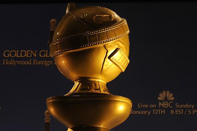 Статуэтка золотой Глобус