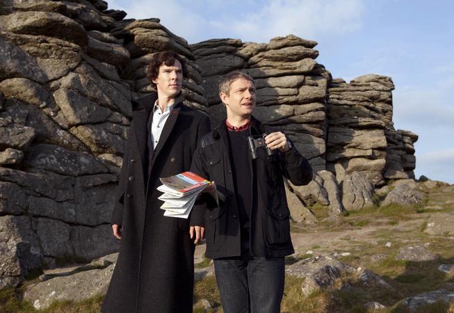 Сериал «Шерлок» — третий сезон на Первом канале
