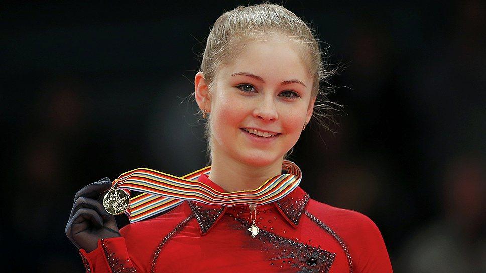 Юлия Липницкая — юное дарование на Олимпиаде в Сочи