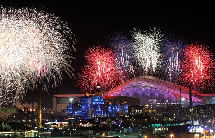 Олимпиада — 2014:  церемония открытия