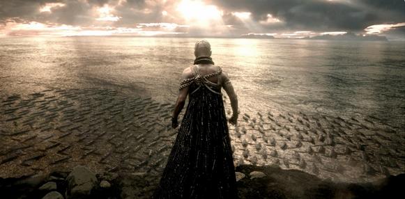 """Кадр из фильма """"300 спартанцев: Расцвет Империи"""""""