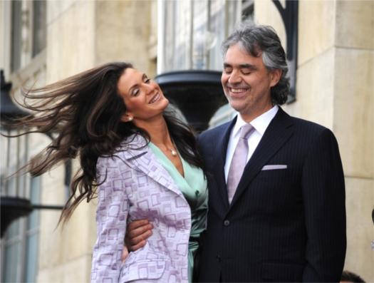 Андреа Бочелли женился на своей подруге Веронике Берти