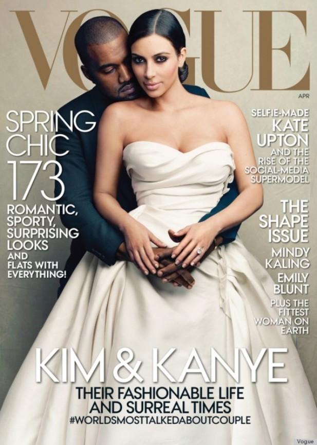 Ошибка редактора — Ким Кардашян на обложке Vogue