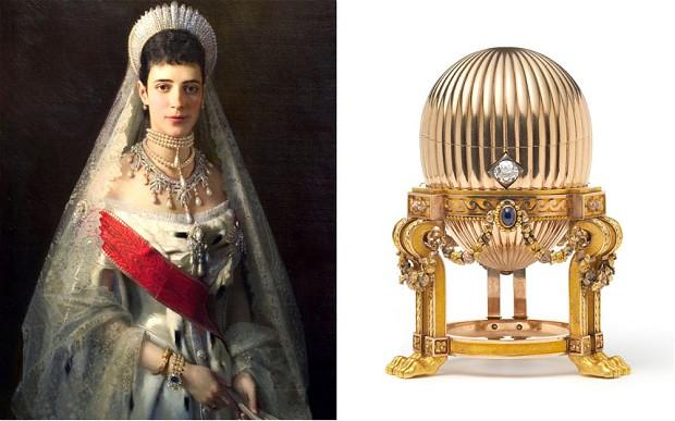 императрица Мария Фёдоровна и яйцо Фаберже