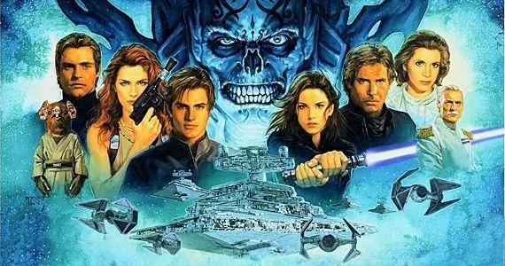 """""""Звёздные войны"""" заставка в эпизоду 7"""