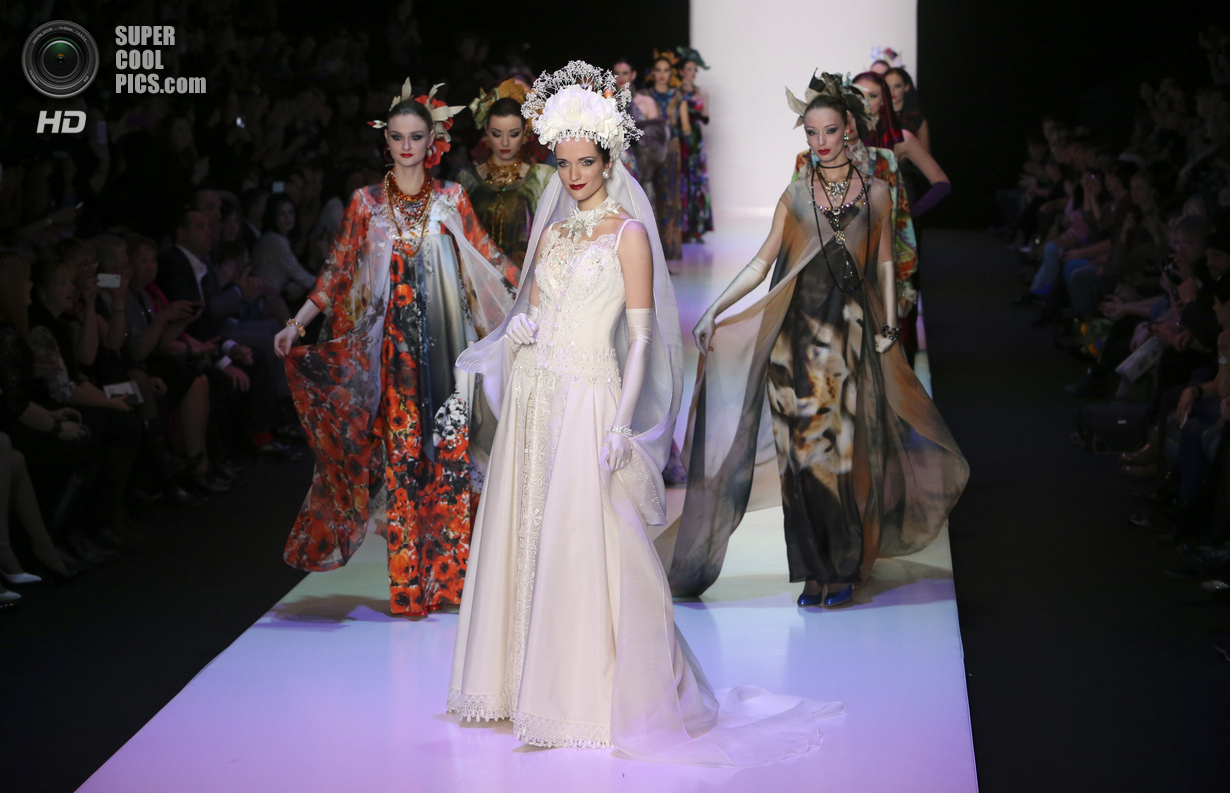 Неделя моды в Москве  Mercedes-Benz Fashion Week Russia (осень-зима 2014-2015)