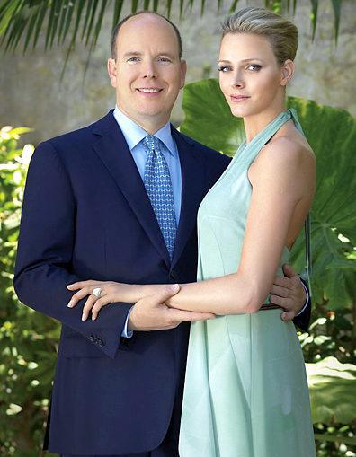 князь Альбер и Шарлен Уиттсток до свадьбы
