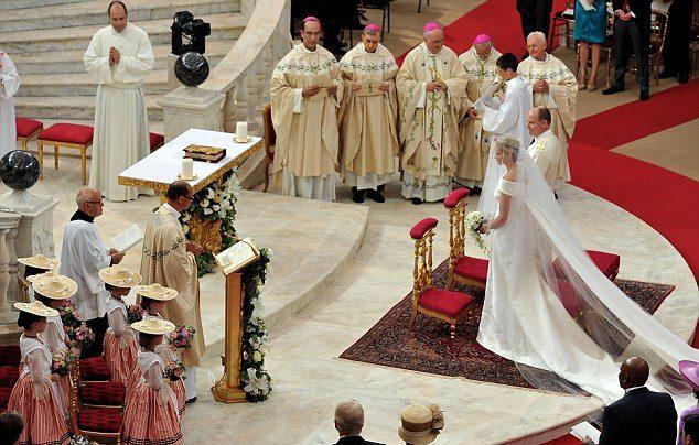 Свадьба князя Монако и Шаолен Уиттсток