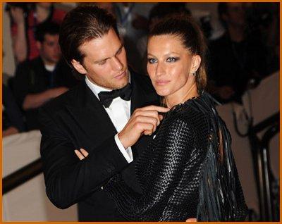 Жизель Бюндхен с мужем