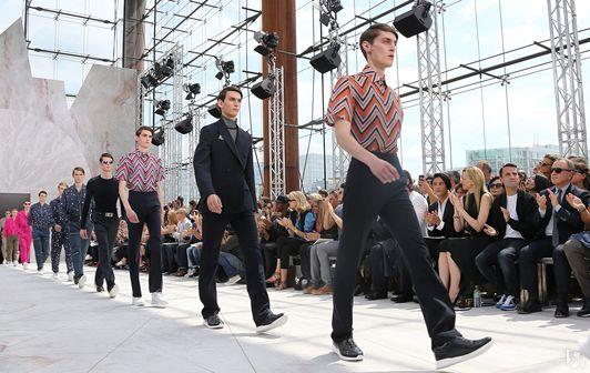 Неделя мужской моды в Париже (весна-лето 2014/15)