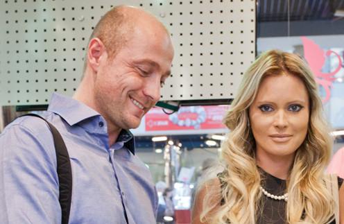 Дана Борисова с Алексеем Панковым