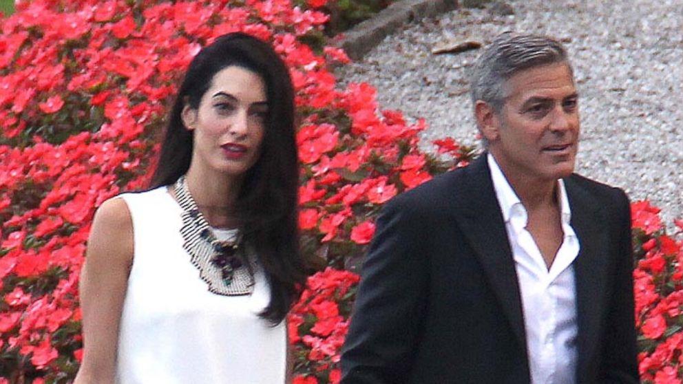 Джордж Клуни не может договориться со своей невестой