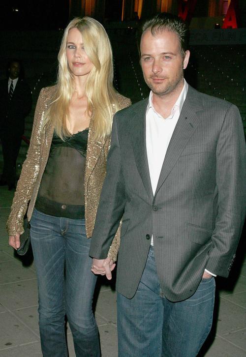Клаудия Шиффер с мужем