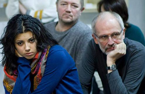 Гордон с нынешней женой Нозой (Нозанин) Абдулвасиевой