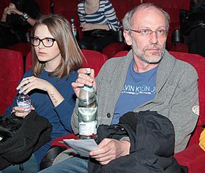 Гордон с бывшей третьей женой 18-летней Ниной Шипиловой