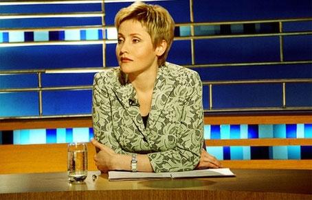 Жанна Агалакова — журналист,  телеведущая