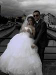 Гуф и Айза в день свадьбы