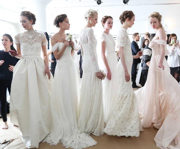 Неделя  свадебной моды в Нью-Йорке 2014 (сезон весна/лето 2015)