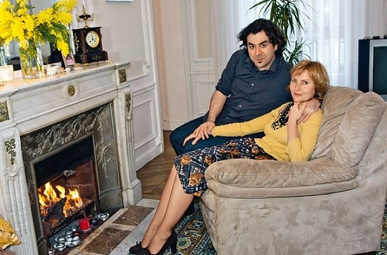 жанна Агалакова с мужем