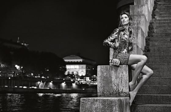 Жизель Бюндхен в рекламе Шанель №