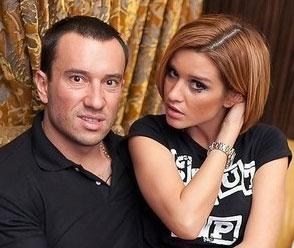 Ксения Бородина и Михаил Терёхин