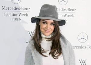 Кэти Холмс наНеделе моды в Берлине. Январь 2015