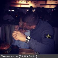 Бородина с новым другом (фото из соц. сети)