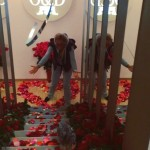 Розы от мужа в деньрождения Ольги Бузовой