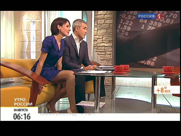 Анастасия Чернобровина в эфире