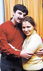 Инна Друзь с мужем Михаилом