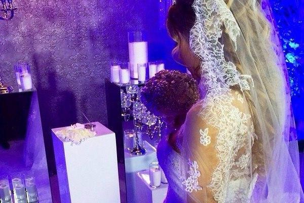 Мария Кириленко в день свадьбы