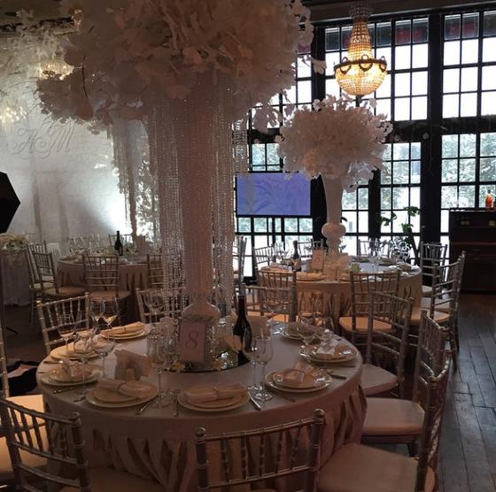 Свадьба Марии Кириленко, оформление зала