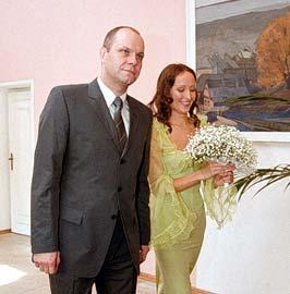 Алексей Кортнев с Аминой Зариповой