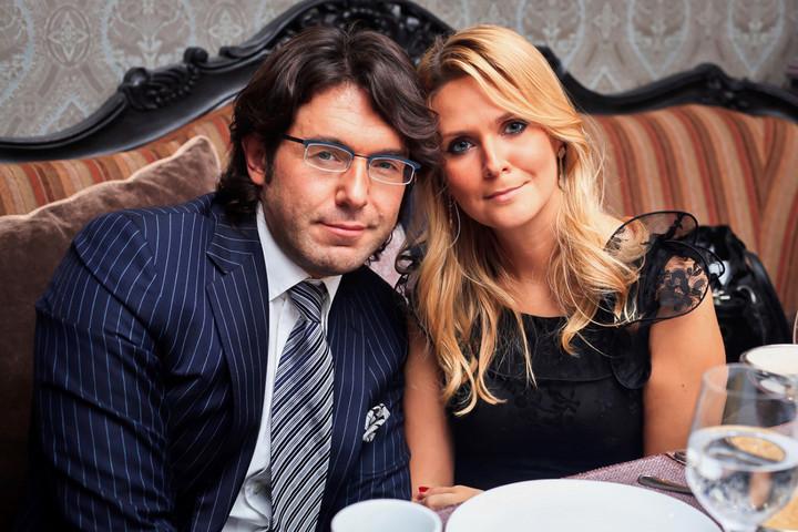 Андрей Малахов  и его жена Наталья Шкулёва