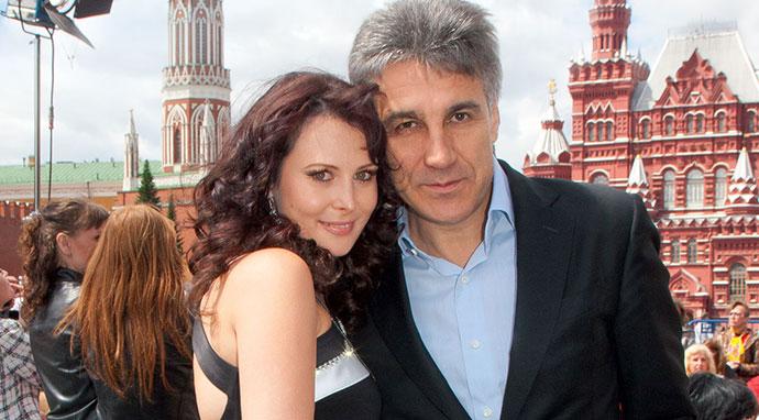 Алексей Пиманов с третьей женой Ольгой Погодиной