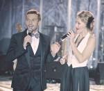Андрей Разыграев с Ксенией Собчак