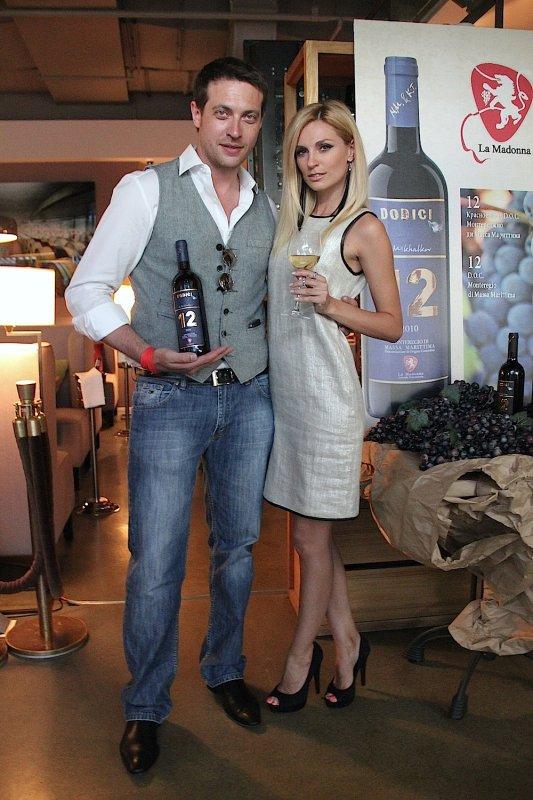 Александра Савельева и ее муж