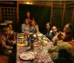 Анастасия Волочкова сдочкой Ариадной в гостях фото 2015