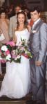 Довлатова со вторым мужем в день свадьбы