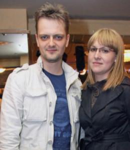 На фото Александр Пушной с женой Татьяной