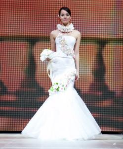 Софья Аржаковская на подиуме