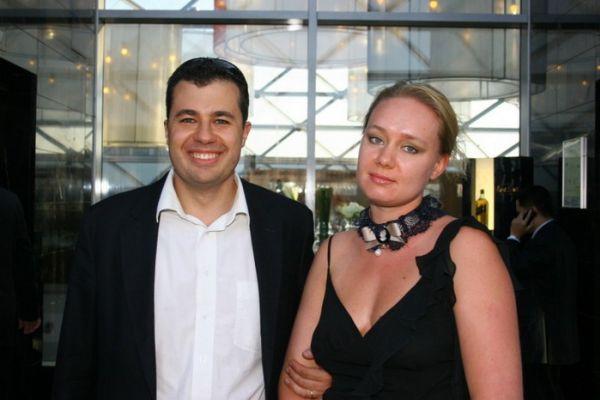Антон Хреков  с женой